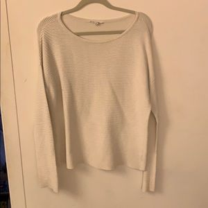 Bb Dakota off white boat  neck sweater